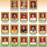Remembering & saluting our heroes who sacrificed their lives while protecting us on 26/11 #MumbaiAttacks from Pak. https://t.co/62n7ZxJr9U