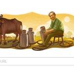 Google celebrates 94th birthday of Verghese Kurien, Milkman of India, architect of the countrys White Revolution https://t.co/8p4Mnu03w7