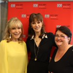 Oh so very fangirl with the fabulous @barbara_Eden & @BarbaraFeldon99. I love my job. @612brisbane https://t.co/VidlPY2Ugl