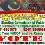 Overseas Pakistanis Have The Right To Vote.... #GiveVotingRightsToOverseas https://t.co/rtsqLNlP9F