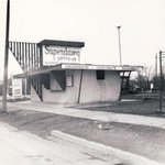 Classic shot of @Superdawg right before its opening in 1948. #ChicagoHistory #Chicago https://t.co/BvWZcRZFCT