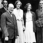 Winston Churchill and his family with Charlie Chaplin. #Chicago #ChicagoHistory https://t.co/34q6Aqy9fV