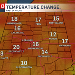 temps are in the mid 50s at 2am... check out how much warmer that is than 24 hours ago! #inwx https://t.co/qWmdowpBky