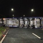 East Lancs Road remains shut westbound after lorry carrying 22 tonnes of ketchup overturns https://t.co/q0QaeEvjpl https://t.co/YGPIGgTVOm