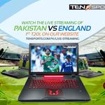 Watch the Live Streaming of the 1st T20 b/w Pakistan and England on our website https://t.co/Zql7lQyFai #PakVsEng https://t.co/oTQQ0jS5gX