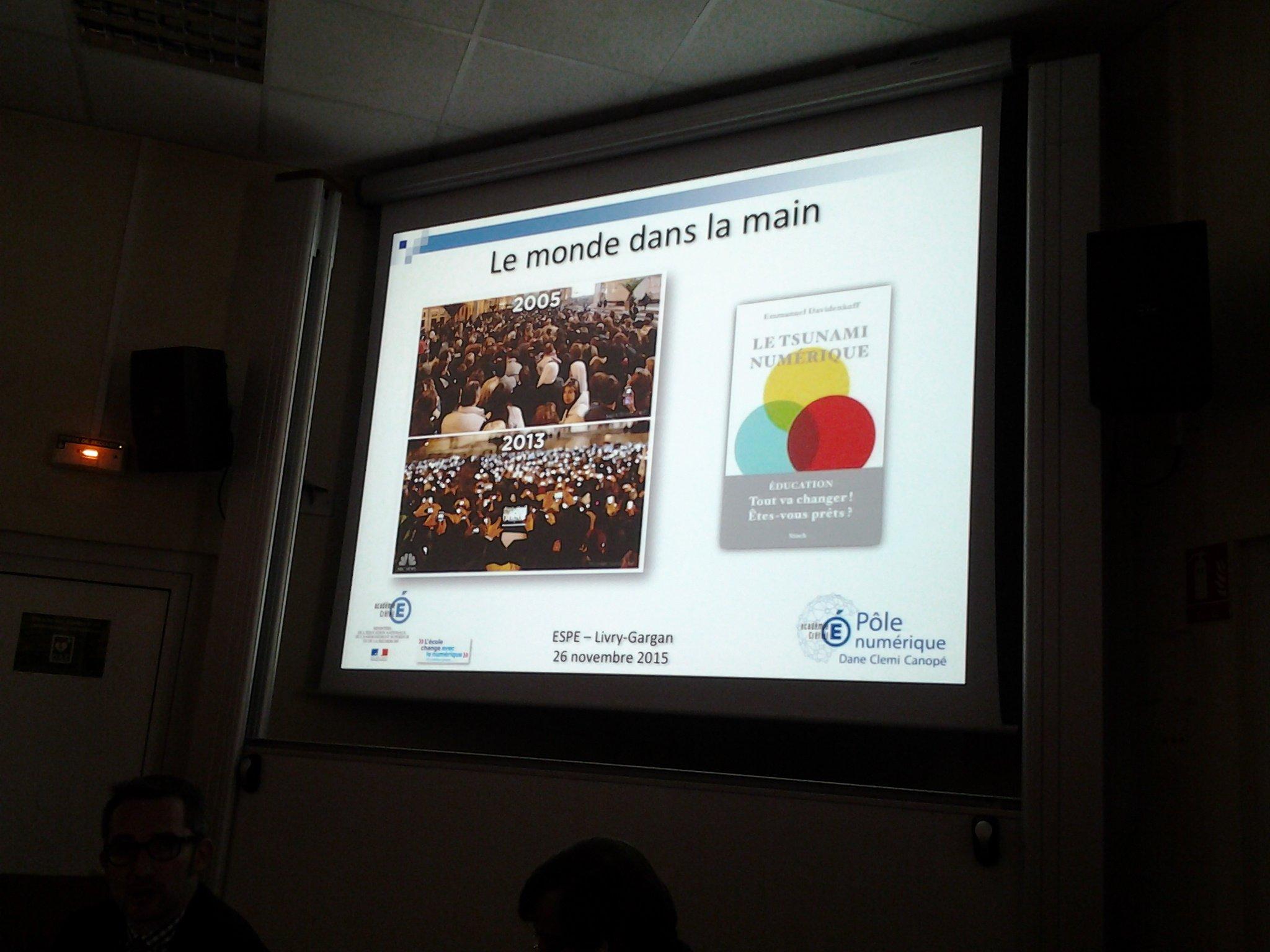 #PlanNumCreteil @PhilRoederer @Davidenkoff : comment préparer #EcoleNumerique à affronter le tsunami numerique? https://t.co/7wMwqO6GKO