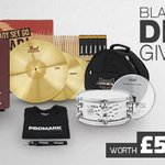 #WIN drum accessories, worth £500! RT & Fav to enter - UK & EU entries only. Ends 9am 27.11.15 GMT. Good luck! https://t.co/WtDb0pCLFz