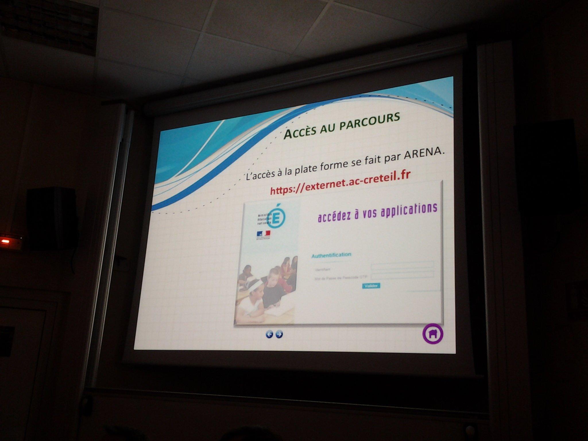 #PlanNumCreteil: le plan exceptionnel au numérique par le numérique s'appuie sur le plateforme #M@gistere @FredLevas https://t.co/uie2M7lplp