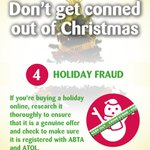 Don't let fraudsters ruin your Xmas and rob you of a holiday #ChristmasCon https://t.co/Rb3ognPkiF