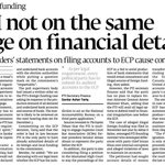 Why PTI is avoiding to submit its financial details to ECP? https://t.co/SIfyzYV35O