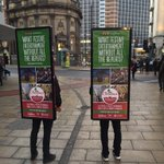 If youre heading into #Leeds city centre today, keep an eye out for our walking billboards! #KirkgateChristmas https://t.co/wdx32TCVNb