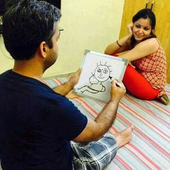 My girlfriend wanted me to hire an artist to draw her potrait. Then I thought #WhatWouldMagufuliDo? https://t.co/QnozmkSbrv