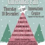Join us for the @dmuenterprise Christmas Fair, taking place here at @dmuleicesters Innovation Centre next week. https://t.co/n59FwwbM2u