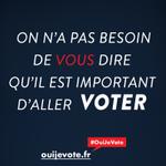 #Regionales2015 Les 6 & 13 décembre, on na pas besoin de vous dire quil est important daller voter... #OuiJeVote https://t.co/F0B2gU2yiT