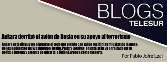 INVENCIONES CAICEDO SANCHEZ informa: #Blog por PabloJofreLeal   Ankara derribó el avión de Rusia en su apoyo al te… https://t.co/3rJVGEZaFX