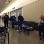 People waiting to pick up their TVs at @meijer @WISH_TV :) https://t.co/rwdlXdTchd