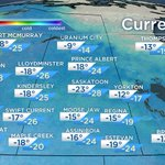Brrrr this morning! Wind chill values creeping close to -30 in parts of #Sask. #CitySC #CityMJ #yqr https://t.co/CtHZ8vAS2U
