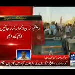 MQMs Peaceful Protest Rally In Front Of Rangers HQ in #Karachi #RallyAgainstInjustices... https://t.co/mWqrtA8LHZ