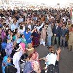 MQMs peaceful protest rally participants in Liaquatabad karachi #RallyAgainstInjustices #KarachiMeinElectionHonayDo https://t.co/jFtH7rMQqU