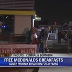 This morning, stop by the @McDonalds at Central and Southern for #free breakfast! https://t.co/LJjuYczVPQ