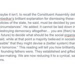 @BJPRajnathSingh right, #Ambedkar didnt want socialist-secular in preamble #NationalInterest https://t.co/JKi4X9hz0P https://t.co/JaxqHD3SSG