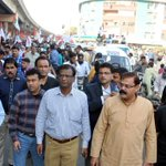MQMs Peaceful Protest Rally In Front Of Rangers HQ in #Karachi | #RallyAgainstInjustices https://t.co/r0oprdCO60
