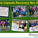 Thanks to all who joined us on Tuesday for the time capsule recovery https://t.co/pNWbS6ve5s #NEFollowers https://t.co/3VsgoBa8DG