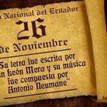 ????Salve oh Patria, ¡mil veces!! ¡Oh Patria! ???? Hoy conmemoramos el día del Himno Nacional https://t.co/y5NZpEX8la