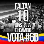 Solo faltan 10 días para el cambio, este #6D ¡todos a votar! https://t.co/dg8eTj1X1H
