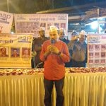 Delhi State Convener @dilipkpandey has also joined AAPs Tribute meet at CST #MumbaiAttacks https://t.co/KCG60i9fN3