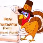 SoFlaToday: miamienvivo: RT onlinemiamidade: #Happythanksgiving !☀️ #Miami #MiamiDade #SouthBeach #SouthFlorida #M… https://t.co/zZJBdWW86N