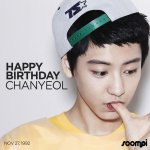 Happy Birthday to #EXOs Chanyeol! #HappyChanyeolDay https://t.co/C7Pxsfk79D https://t.co/9cTvUYSEai