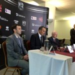 And heres the main man. Kelvin Thomas simply reads his statement before doing one v one interviews #cobblers #ntfc https://t.co/BCbiPH0v9a
