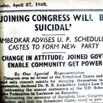 Some1 shared this old newspaper cutting with me. On Constitution Day when we hear Congress speak about its ownership https://t.co/RibWW9D1j5