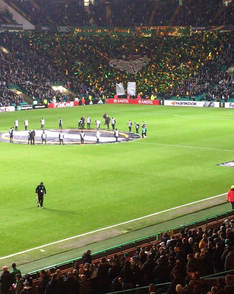 Celtic VS Ajax in the #europaleague #ViolaFC https://t.co/mxmP86VDSw