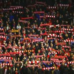 PHOTO: Great shot of the fans inside Anfield this evening #LFC https://t.co/vbCSoy6Yx3