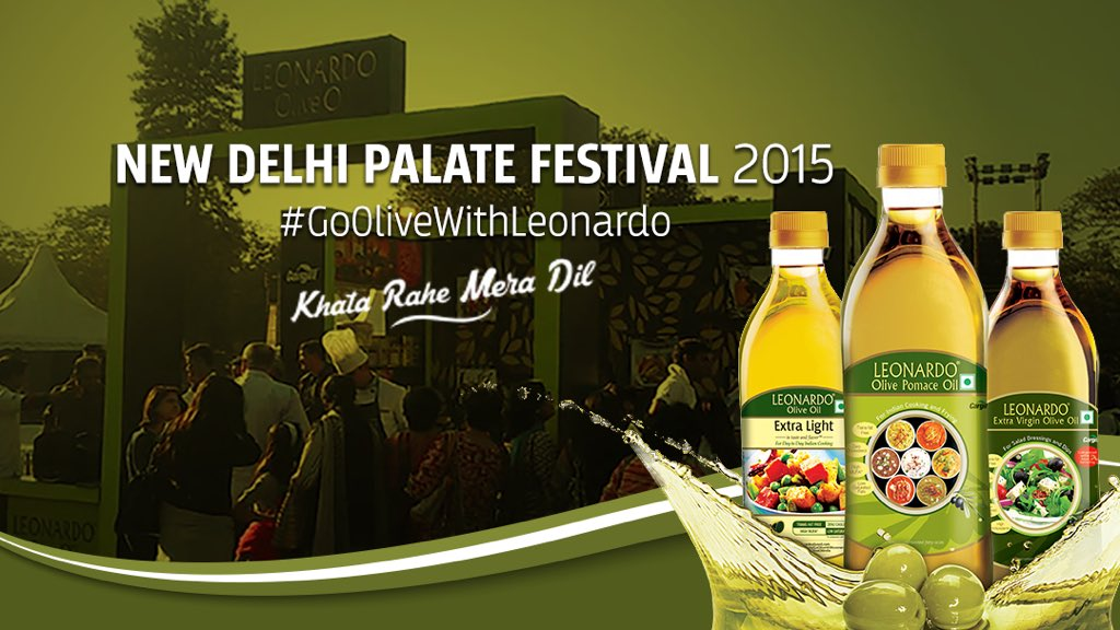 Spend your Sat 28 noon at @PalateFest -learn about cooking/baking with olive oil at noon w/me @OliveOilIndia Stall https://t.co/Fjbk61Kiga