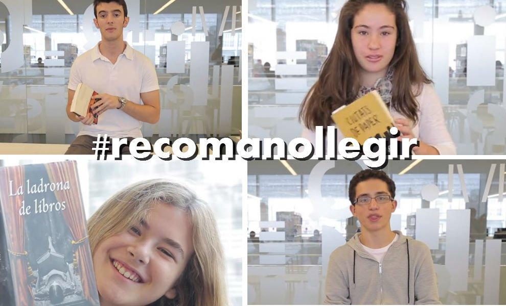 T'agradaria ser #booktuber? Participa a #recomanollegir @adolescents_cat i guanya premis! https://t.co/LsFz21MMqI https://t.co/b8pTnciHgO