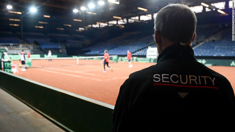 Davis Cup final: Belgium on high alert for Great Britain clash