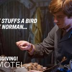 Normans tips for stuffing your bird. #HappyThanksgiving! #BatesMotel https://t.co/kY9WzMrr1o