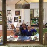 Georgina & rascals #RVPintheframe @Royal_Shopper come and join us! #art #TunbridgeWells https://t.co/Z2IchqM3Fv