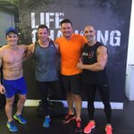 Dominated these boys in every department.... Except the beach muscles, they won that! @SWEAT1000 https://t.co/fCNRzBzFBi
