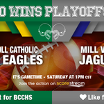 Who wins? RT for Bishop Carroll Catholic @BCCHSFootball Like for Mill Valley Get the app 🏈 https://t.co/Qw4B56Z43m https://t.co/oReCiox2q8