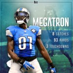 MEGA-TURKEY! Calvin Johnson finds the end zone 3 times in the Lions' blowout win! https://t.co/vB1XC2Ckgx