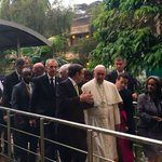.@Pontifex calls for strong #COP21 climate agreement during visit to UN: https://t.co/K5085DnY1J #PopeInKenya https://t.co/4fr8YsNvyM