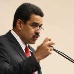 """Maduro llamó """"basura"""" a Almagro por declaraciones sobre el asesinato de dirigente opositor https://t.co/QIImPn9MAm https://t.co/QmSovmky07"""