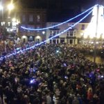 And theyre on! #lightswitchon #festive #Darlington https://t.co/33rB5knABc