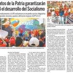 @CiudadMCY: Candidatos de la Patria garantizan en la AN el desarrollo del Socialismo @TareckPSUV @NicolasMaduro https://t.co/AFe0s4ObS3