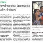 @CiudadMCY: Comando Bolívar-Chávez denunció a la oposición por confundir a electores @TareckPSUV @NicolasMaduro https://t.co/0ls6Shu3Pt