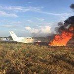 Avión donde iban Lilian Tintori y Rummy Olivo a Guárico se incendió https://t.co/i2X7cuaiu4 https://t.co/3JU0J13TaF